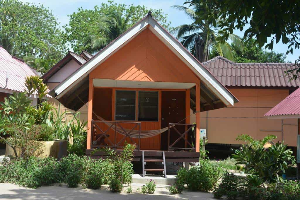 Grand Beach Resort fan bungalows