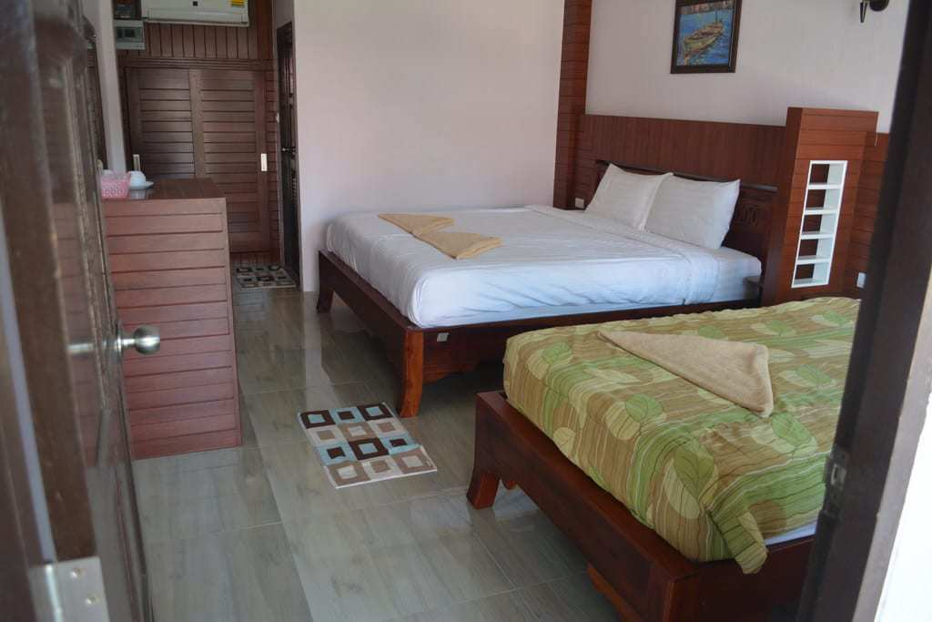 Grand Beach Resort superior triple room
