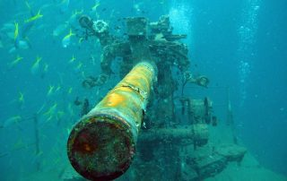 Advanced course wreck dive