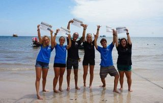 Our SSI Dive Master certifications, its official