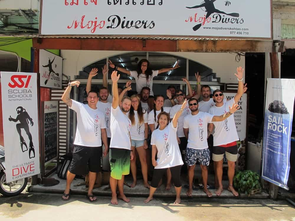 5th Year Anniversary open water diver