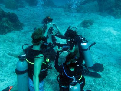 Open water diving skills