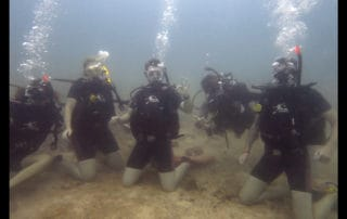 open water scuba diving