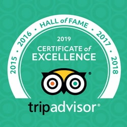 TripAdvisor Certificate of Excellence Diving Koh Tao